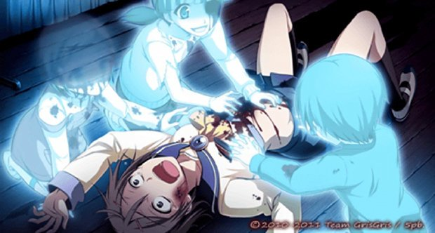 Обзор Corpse Party Blood Covered (PSP)