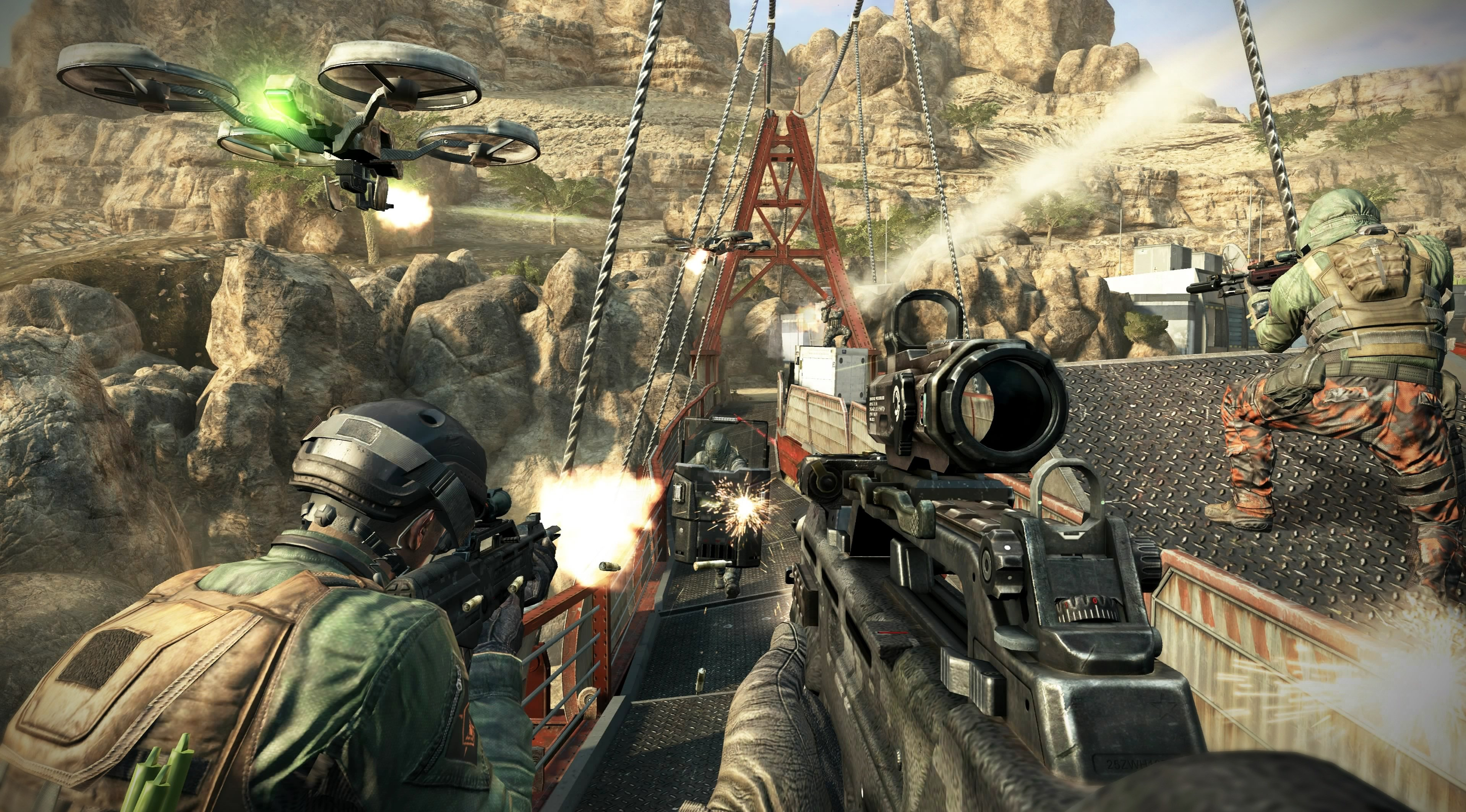Все знают дойную машину Activision эта серия игр Call of Duty на этот раз Call of Duty Black Ops 2. Действие происхо .... - Изображение 1