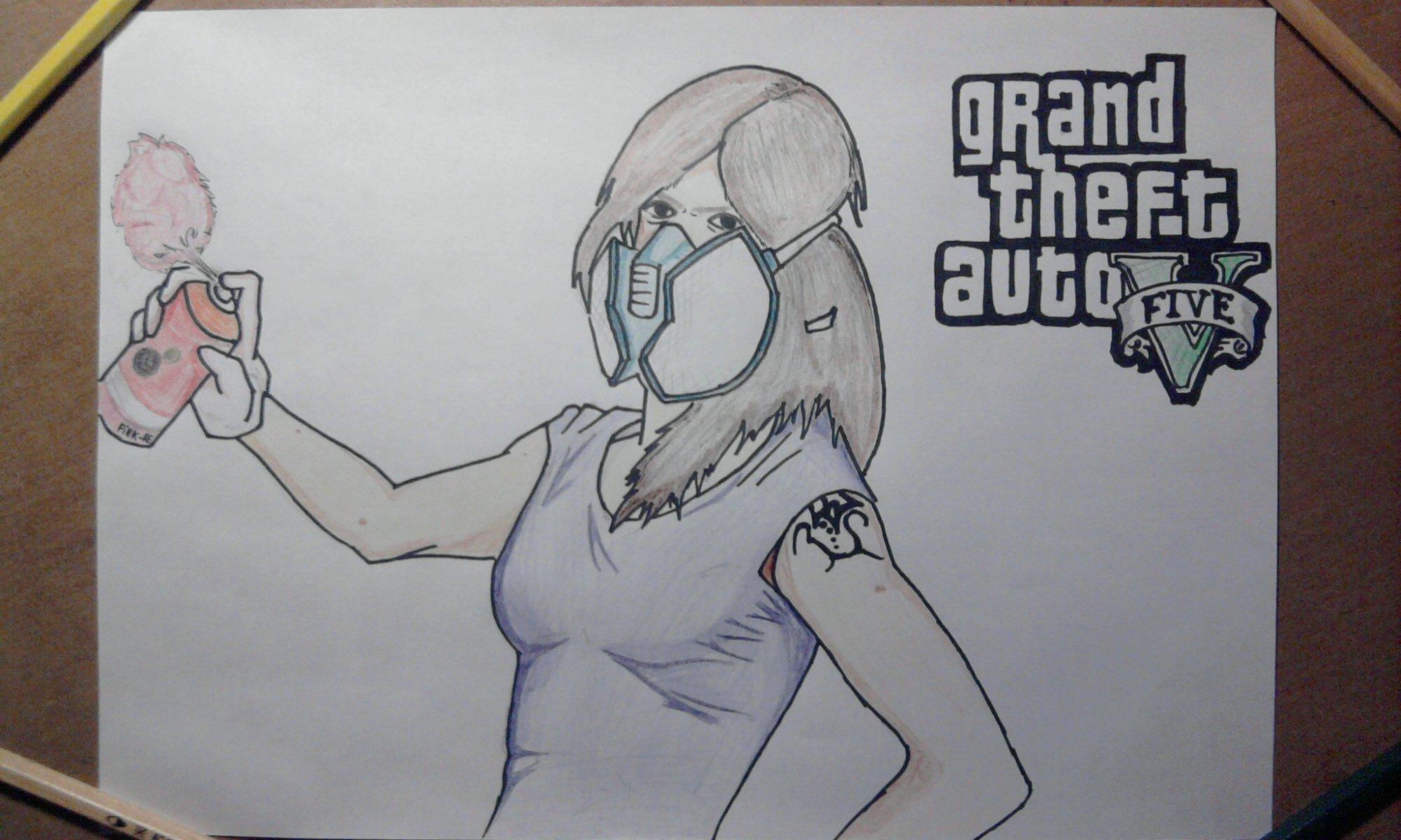Все мы замечали, что ни в одной (если мне не изменяет память) из частей GTA не было главного персонажа девушки. А ве ... - Изображение 1