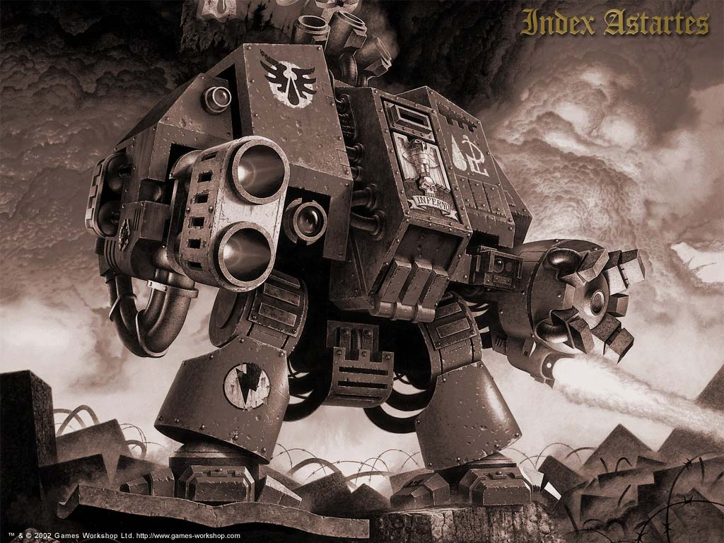 Меня всегда привлекала вселенная Warhammer 40k - довольно давно я интересовался о чем она, о ее влиянии на другие ны ... - Изображение 3