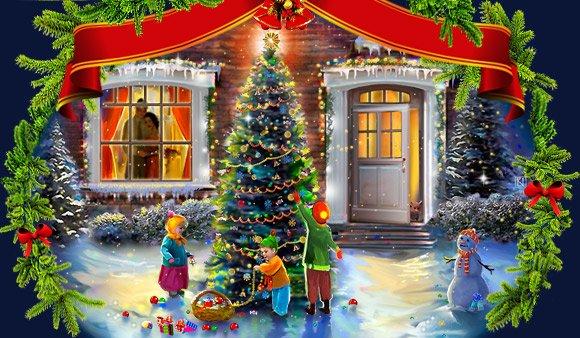 Зимнее время самое интересное, сказочное время  в году.  Дети ждут новогоднее чудо, лепят снеговиков и играют в снеж ... - Изображение 1