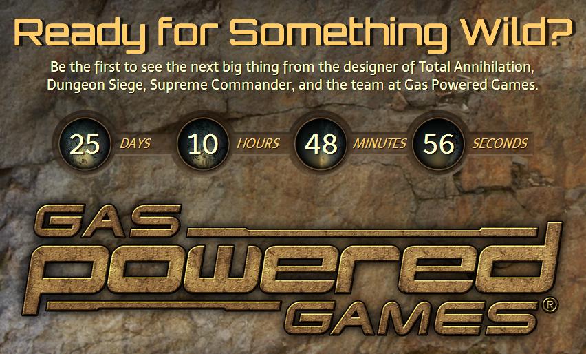 Gas Powered Games готовит анонс - Изображение 1