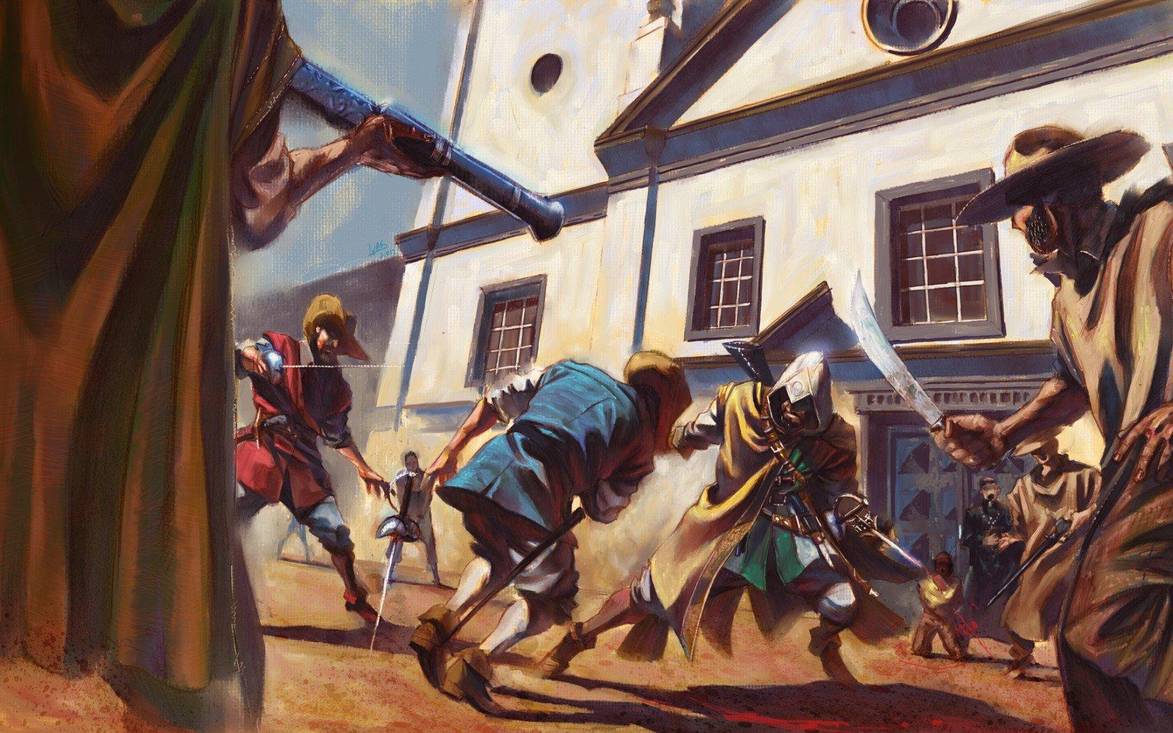 Прошло уже два месяца с выхода Assassin's Creed 3, завершившей историю Дезмонда Майлза – бармена, убийцы и потомка д ... - Изображение 1