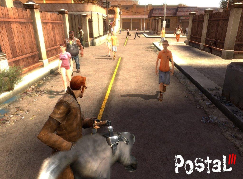 Postal III действие игры, ультра-насилие, юмор, жуткий и нездоровой. Как и в предыдущих играх, это всегда полный раз ... - Изображение 1