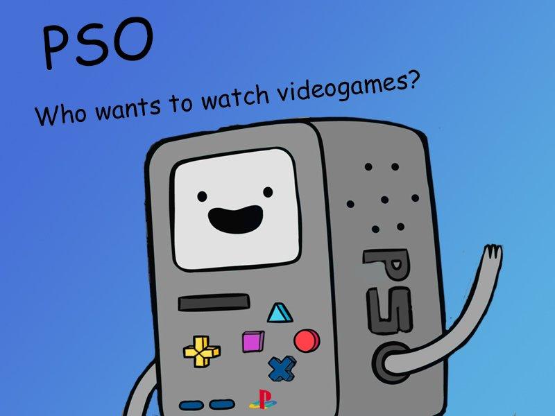 PSO это не просто консоль это тот, с кем ты можешь общаться. Он самый придумает тебе игры и может вести с тобой диал ... - Изображение 1