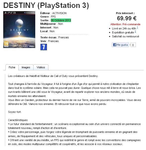Пачка новых слухов о Project Destiny - Изображение 1