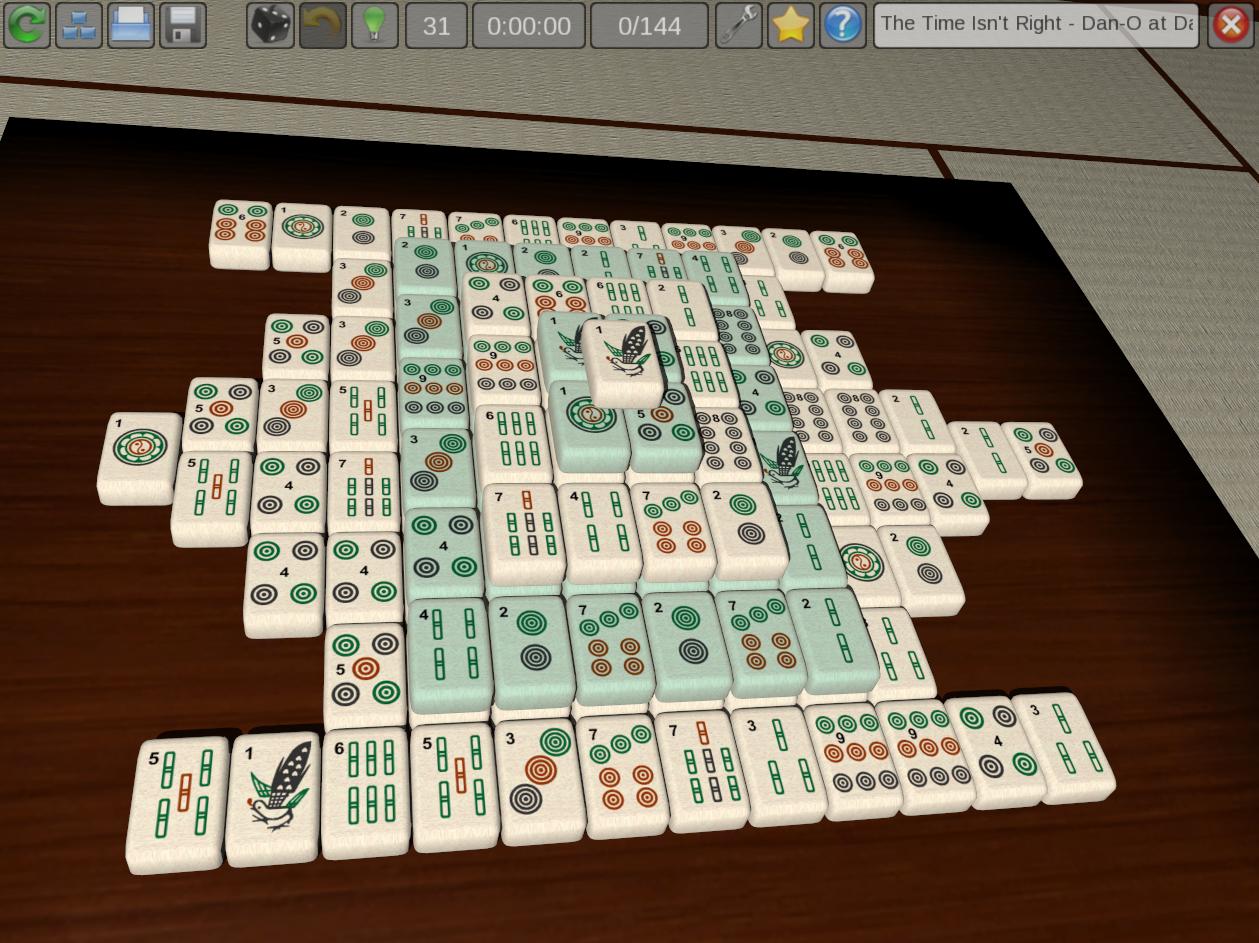 Предисловие:Почти все компьютерные игры для одного человека с названием «маджонг» реализуют именно пасьянсы маджонг, ... - Изображение 2