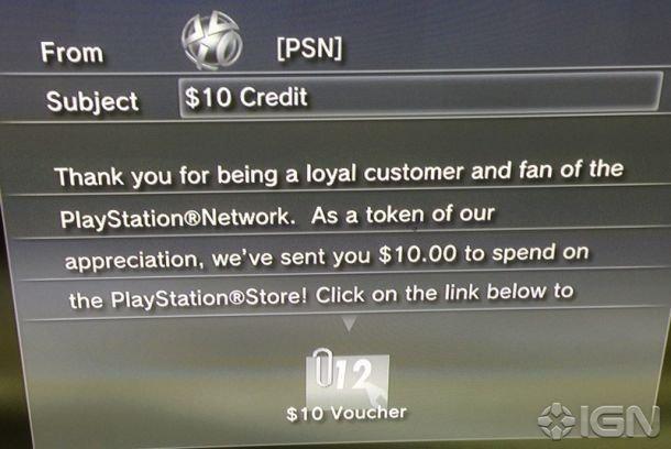 Sony раздает деньги подписчикам PSN - Изображение 1