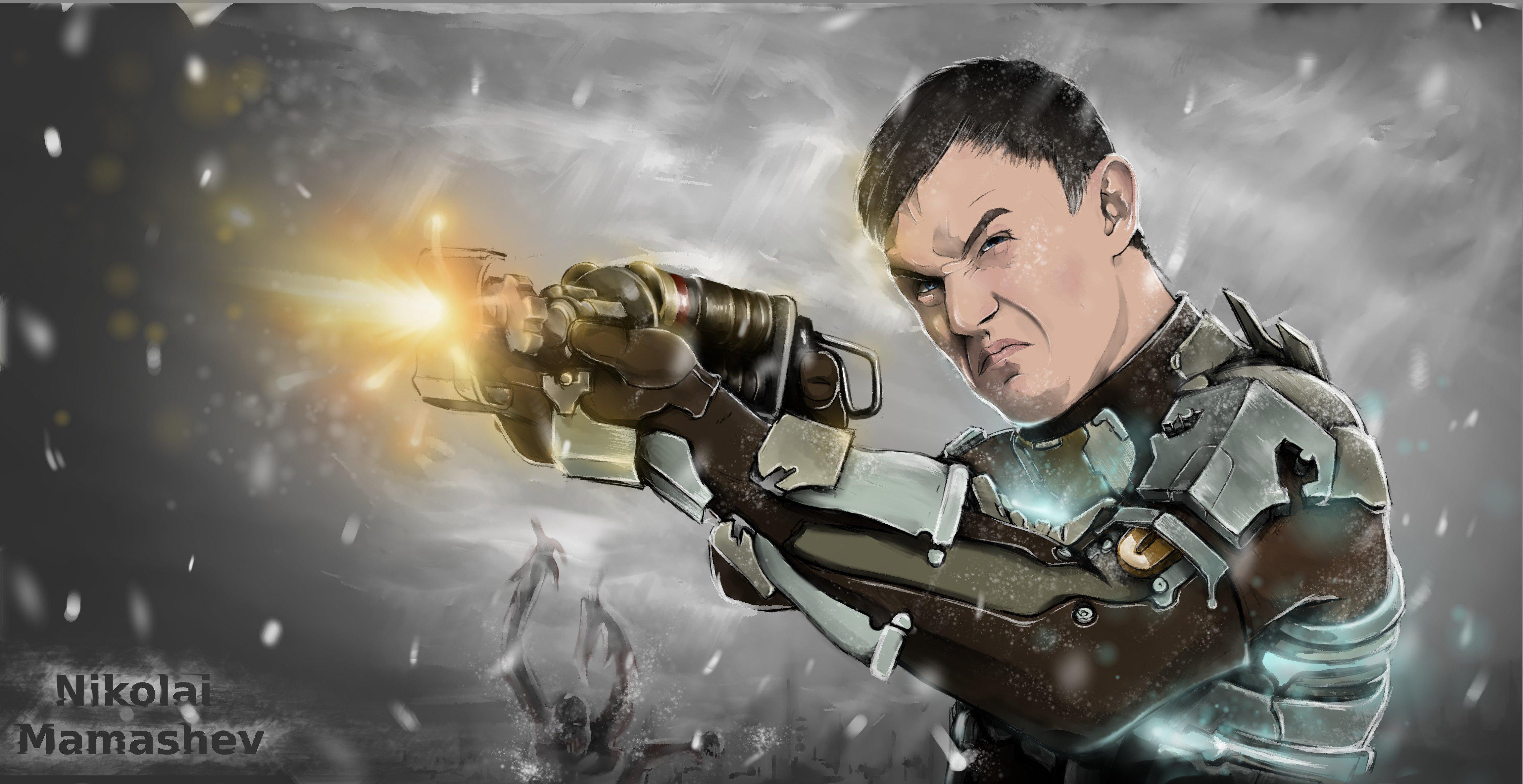 Совсем недавно прошел третью часть великолепной игры «Dead Space». Великолепна она, на мой взгляд, во всех отношения ... - Изображение 1