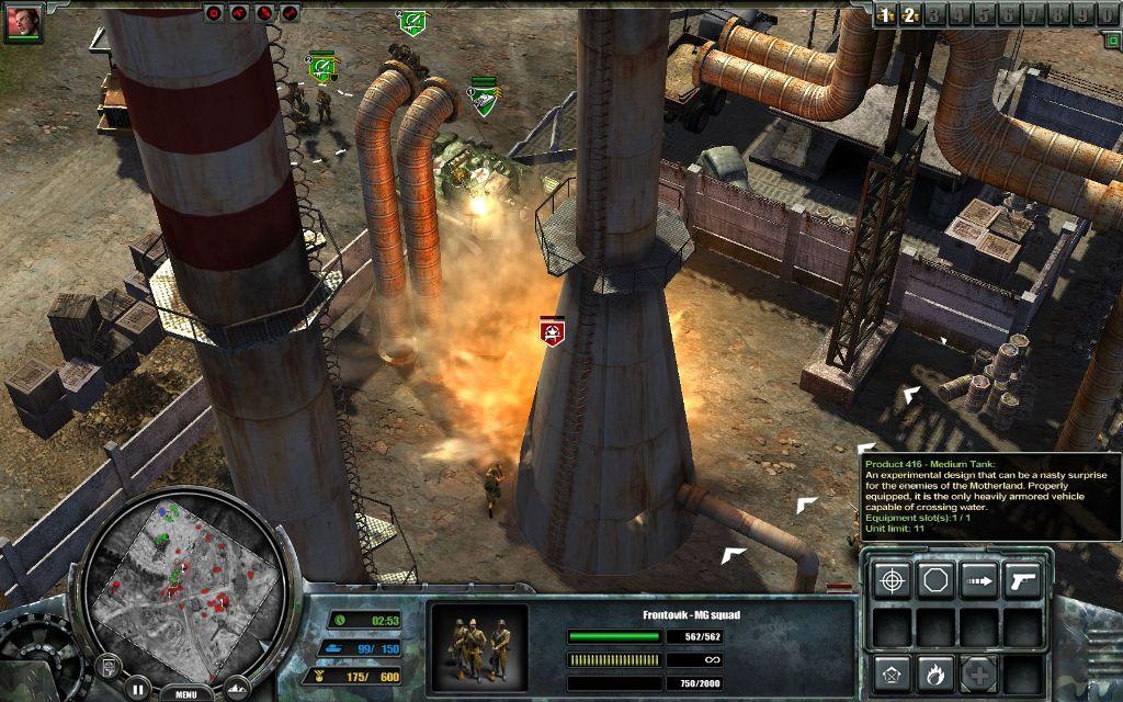 Игру Codename Panzers