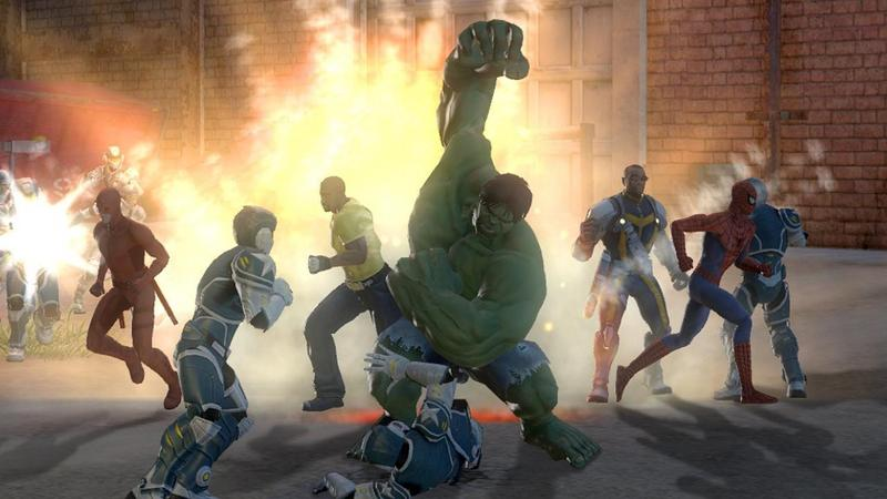 Игру Marvel Ultimate Alliance 2