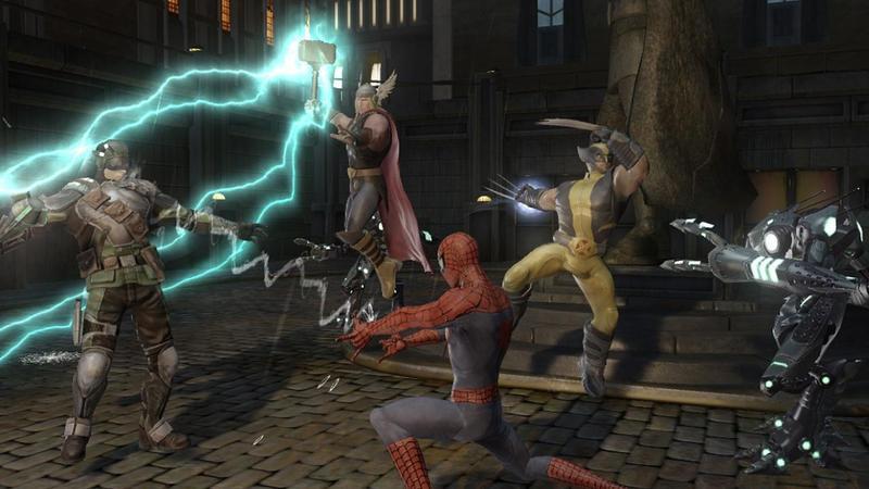 скачать игру Marvel Ultimate Alliance 2 на Pc через торрент - фото 6