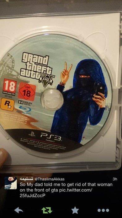 В Пакистане отец ретушировал для дочери обложку GTA 5. - Изображение 1