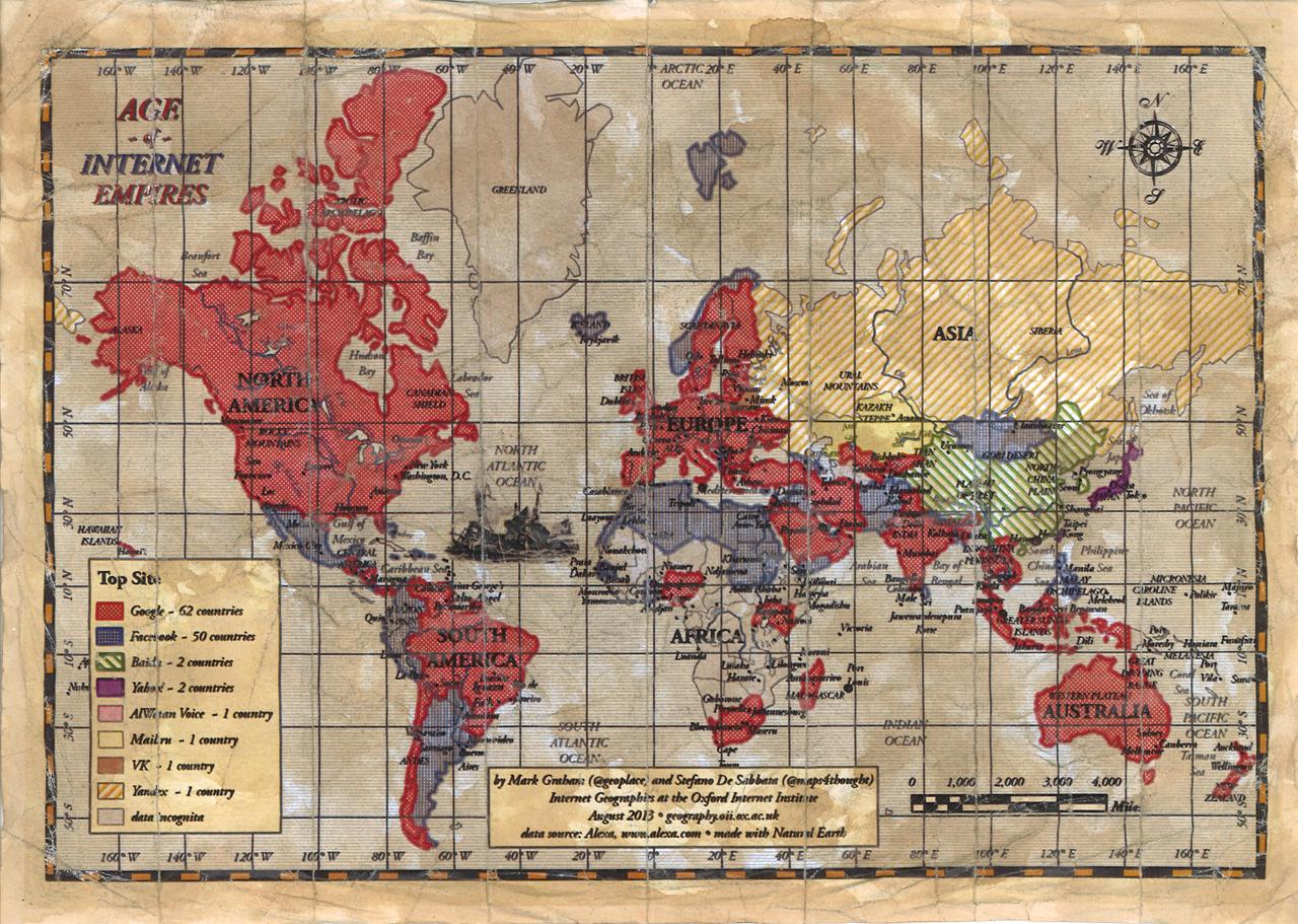 Британские ученые создали проект  Age of Internet Empires - Изображение 1