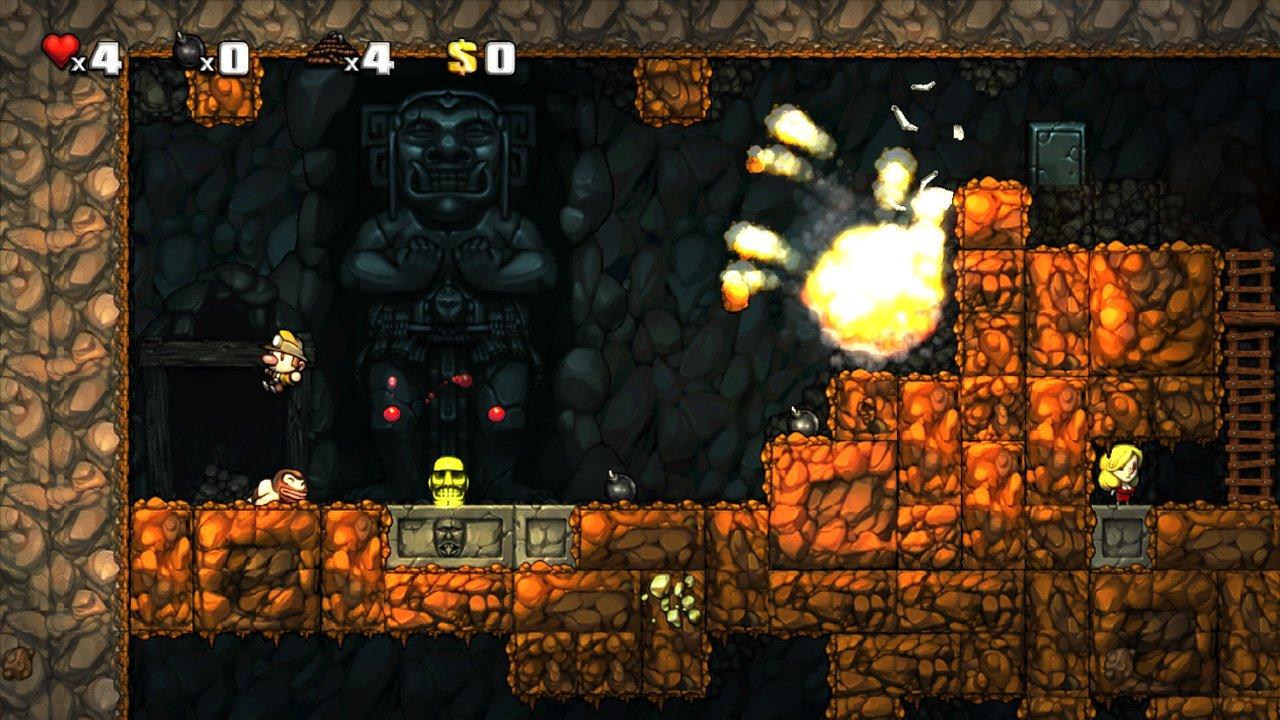 Spelunky для PlayStation уравняли с PC-версией  - Изображение 1