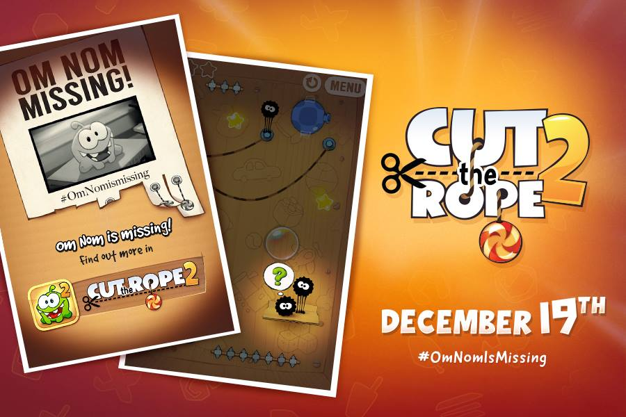 Cut the Rope продолжится на iOS через две недели - Изображение 1