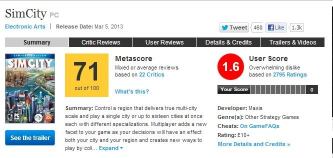 EA извинилась за неполадки с серверами SimCity бесплатной игрой - Изображение 2