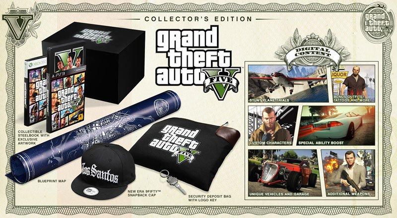 Анонсированы коллекционное и специальное издания игры GTA V - Изображение 2