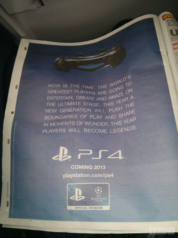 Британский таблоид раскрыл дату европейского релиза PlayStation 4 - Изображение 1