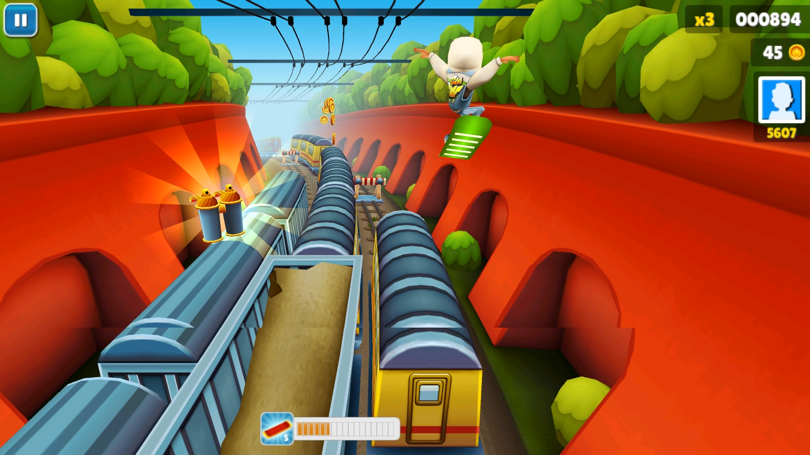 Скачать игру Subway Surfers London на Android - YouTube