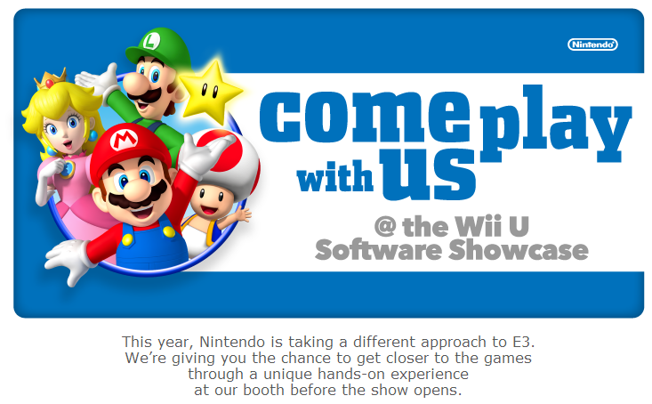 Nintendo представила альтернативу пресс-конференции на E3 - Изображение 1