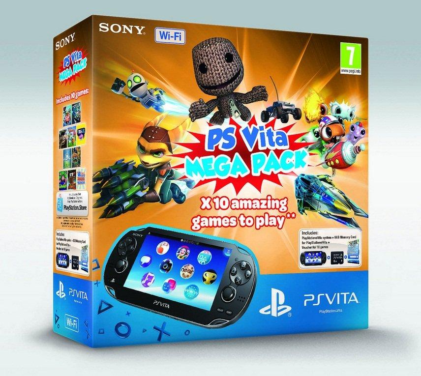 SONY анонсировали Mega Pack из 10 игр для PlayStation Vita - Изображение 1