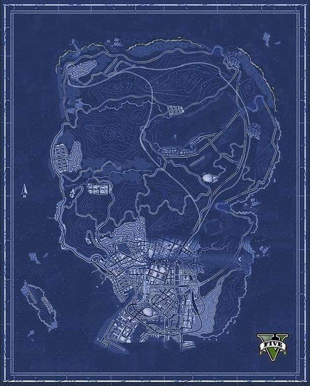 Концепт смартфона iFruit и карта мира GTA V появились в сети - Изображение 1