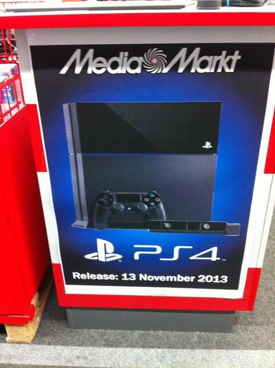 PlayStation 4 может поступить в продажу 13 ноября - Изображение 1