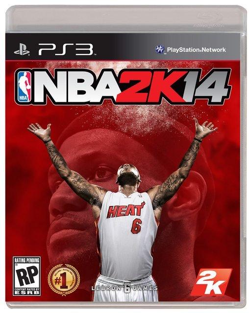 Леброн Джеймс стал лицом обложки NBA 2K14  - Изображение 1