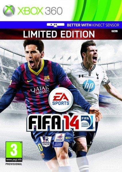 FIFA 14 получит английский вариант обложки с Бэйлом и Месси  - Изображение 1