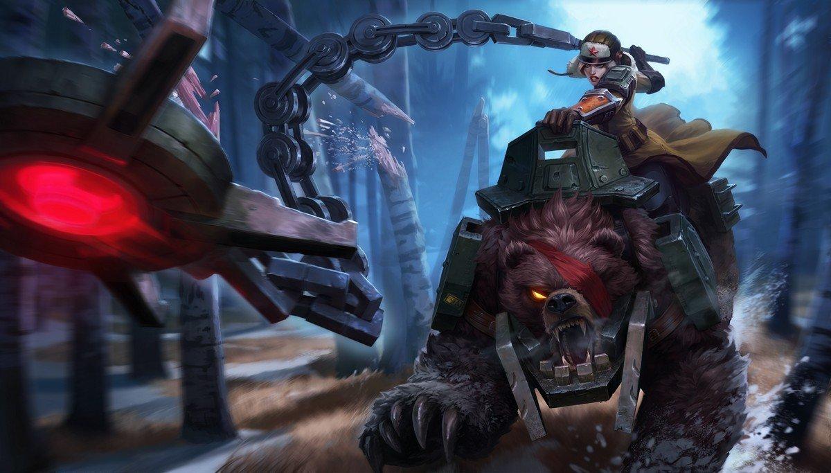 Riot Games выпустили скин для русскоязычного сервера League of Legends - Изображение 1