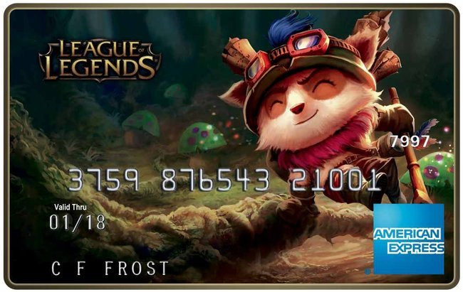 В среду будут запущены дебетовые карты League of Legends - Изображение 1
