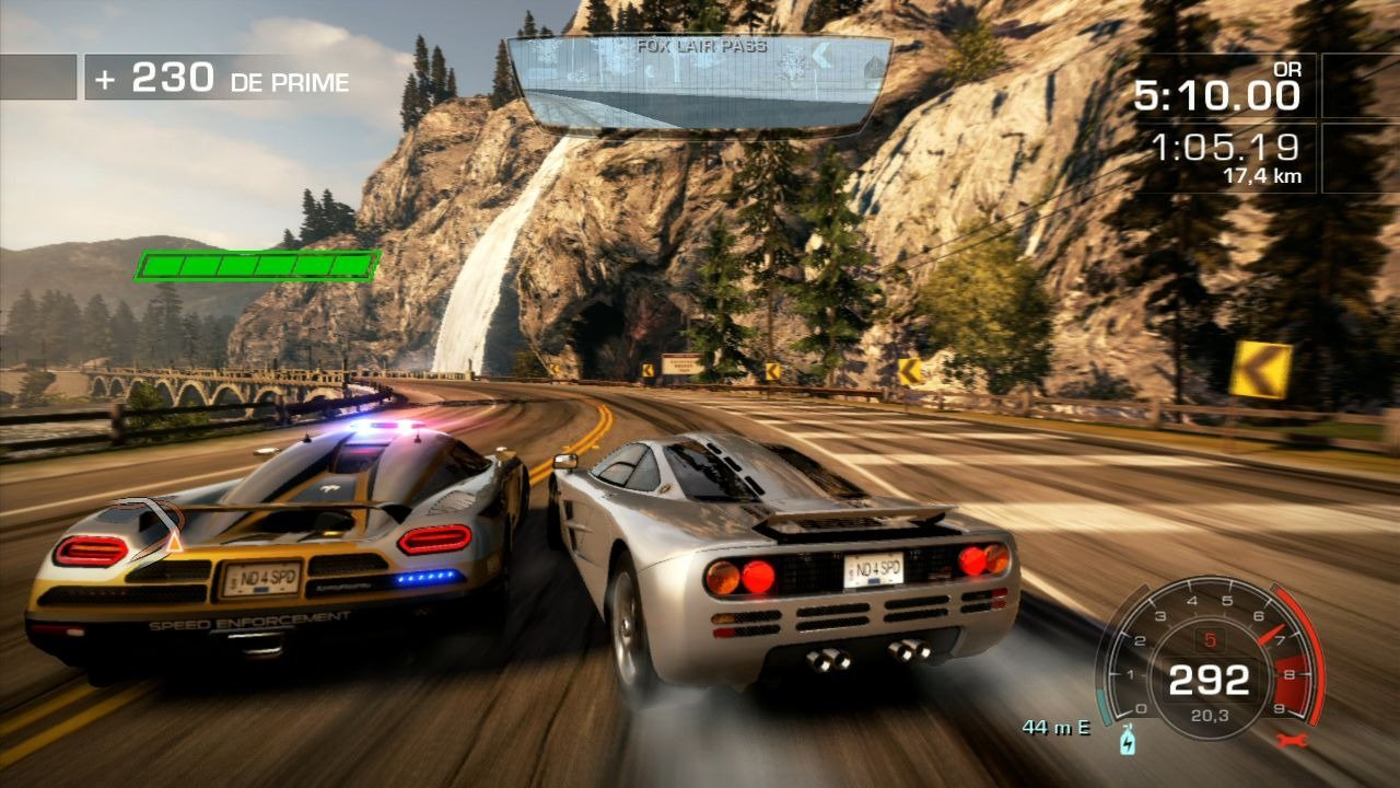 Need for Speed Hot Pursuit (2010) + Crack.