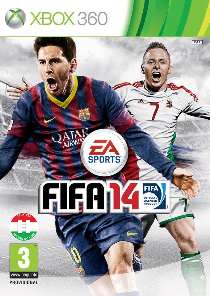 Венгерскую обложку FIFA 14 украсит игрок московского «Динамо» - Изображение 1