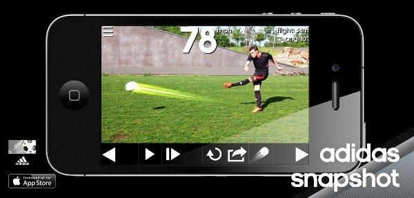 Adidas выпустил приложение для анализа ударов по мячу - Изображение 1