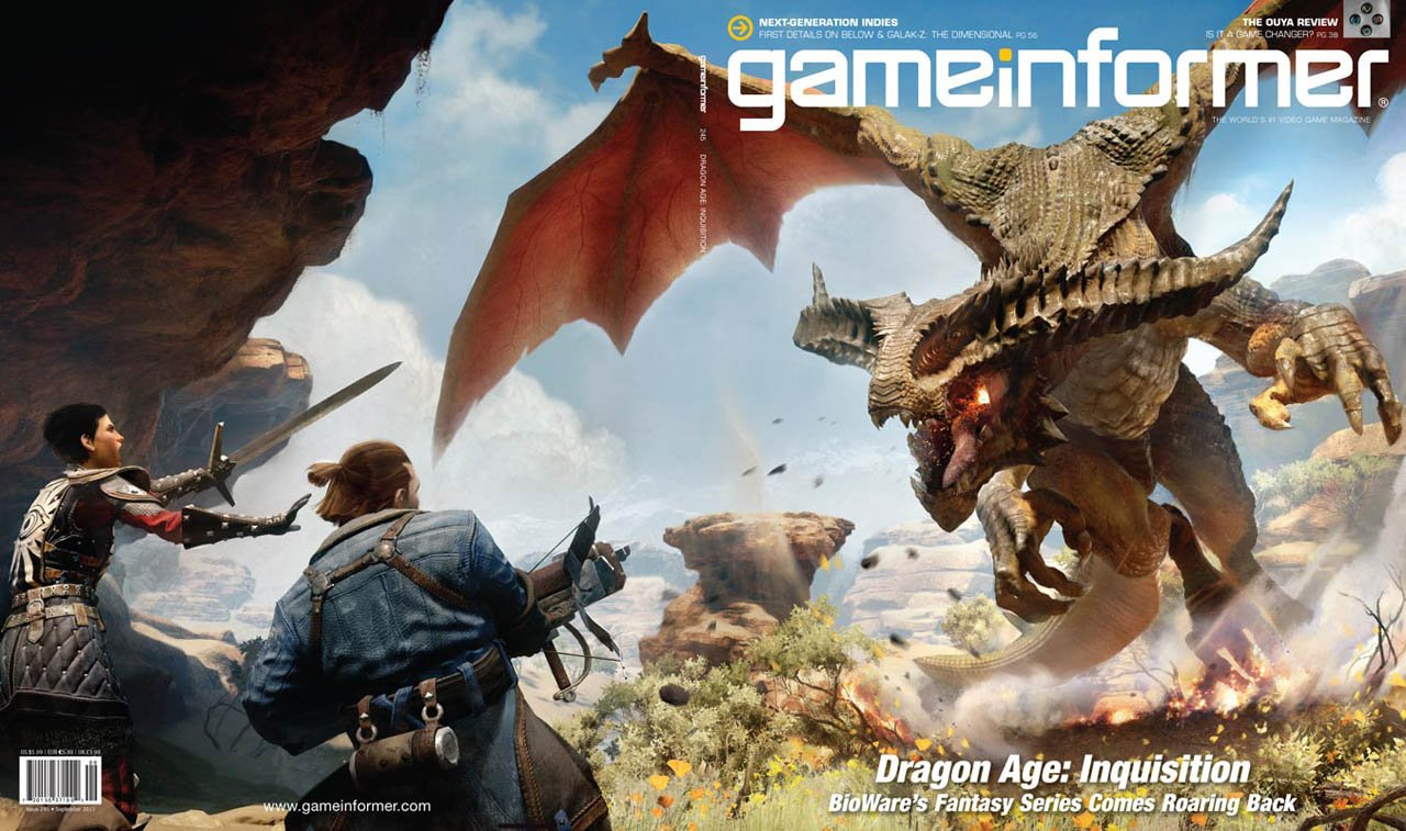 На обложку сентябрьского Game Informer попала Dragon Age: Inquisition - Изображение 1
