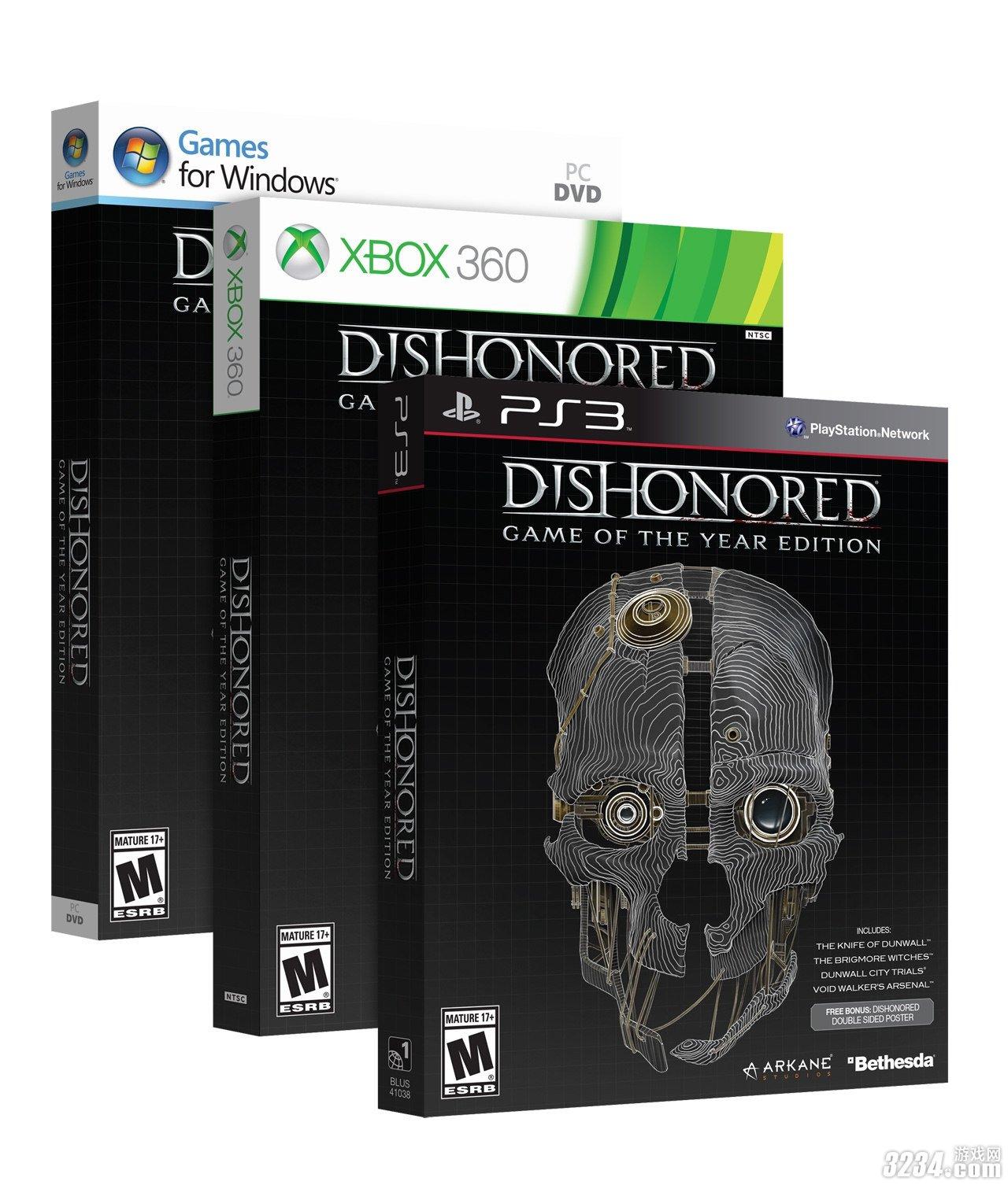 Бокс-арт GOTY издания Dishonored  - Изображение 1