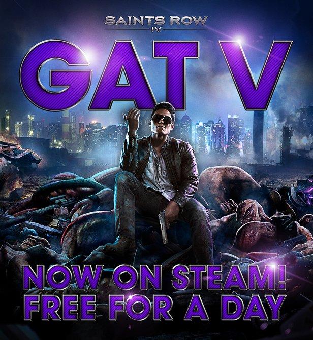 «GATV» DLC для Saints Row 4 бесплатно в сервисе Steam - Изображение 1
