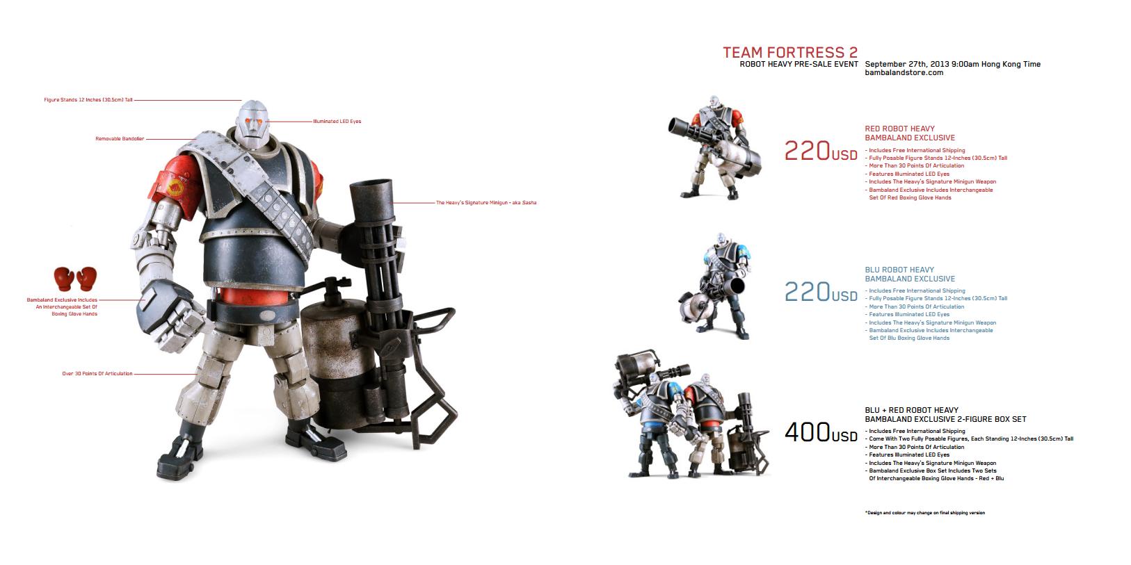 Анонсированы новые фигурки по Team Fortress 2. - Изображение 1