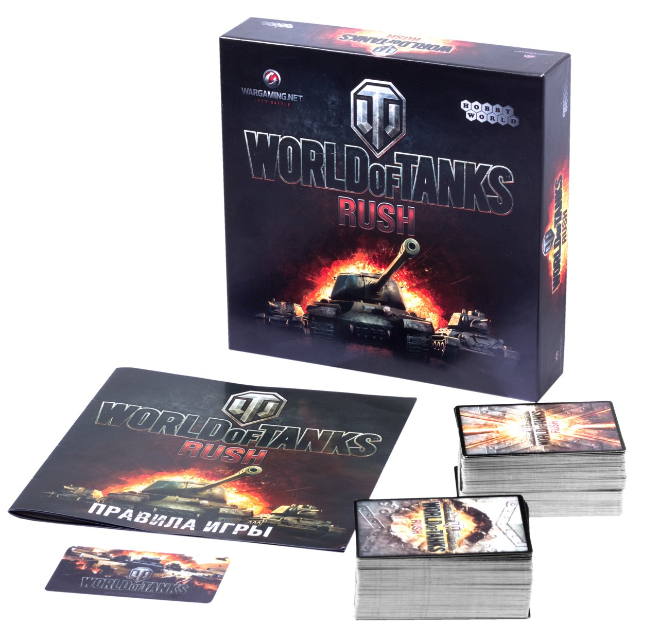 Настольную игру World of Tanks: Rush представят на «Игрокон-2013» - Изображение 1
