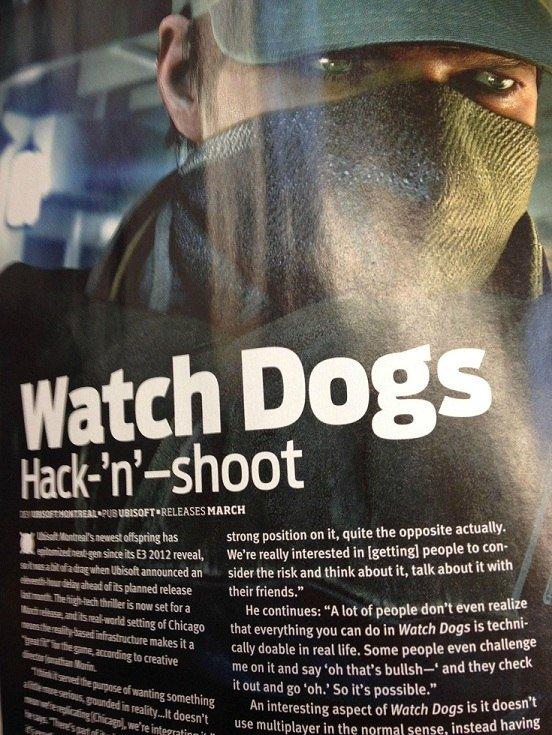 Дата выхода Watch Dogs засветилась в OXM - Изображение 1