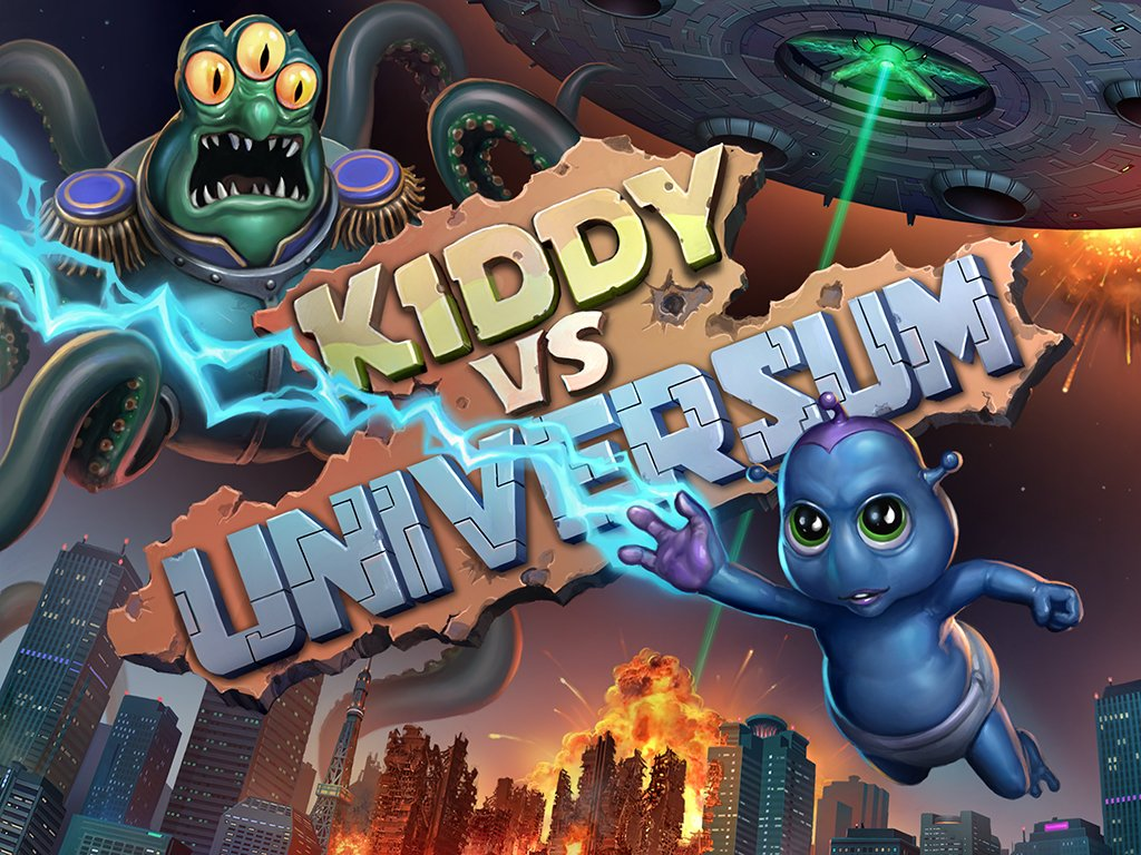 Kiddy VS Universum | Сайт презентация | Web Demo - Изображение 1