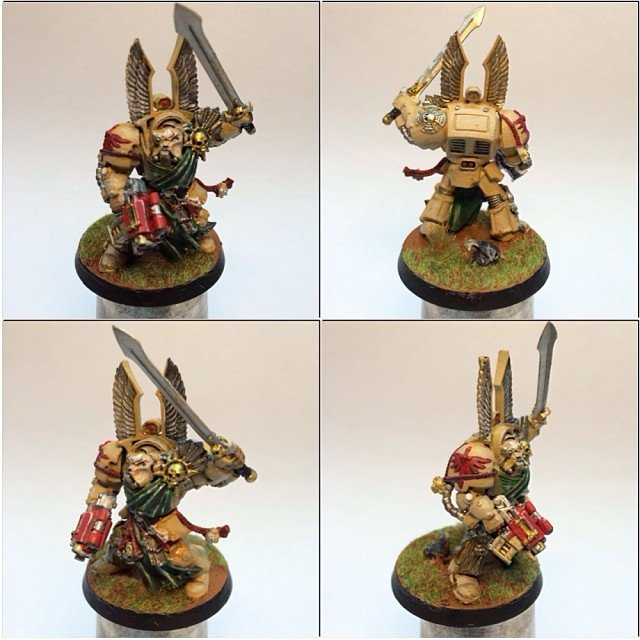Сегодня закончил сержанта из Deathwing Terminator Squad #wh40k #warhammer40000 #warhammer40k #wh40000 #darkangels # ... - Изображение 1