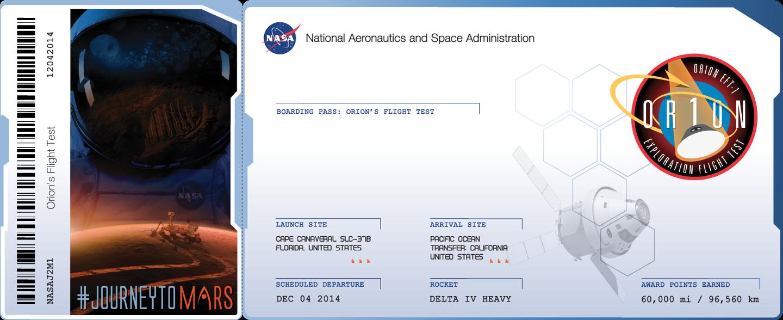 В рамках проекта «Journey to Mars» NASA предлагает всем желающим косвенно принять участие в тестовом полете Орион ... - Изображение 1
