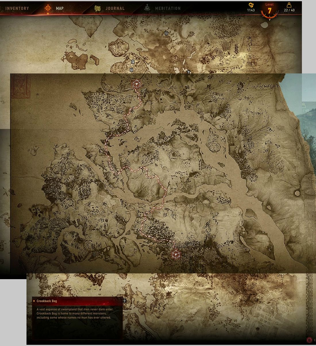 Карта мира The Witcher 3: Wild Hunt «Ведьмак 3: Дикая охота» - Изображение 2