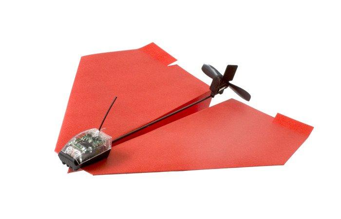 PowerUP 3.0: бумажный самолетик с радиоуправлением  - Изображение 1
