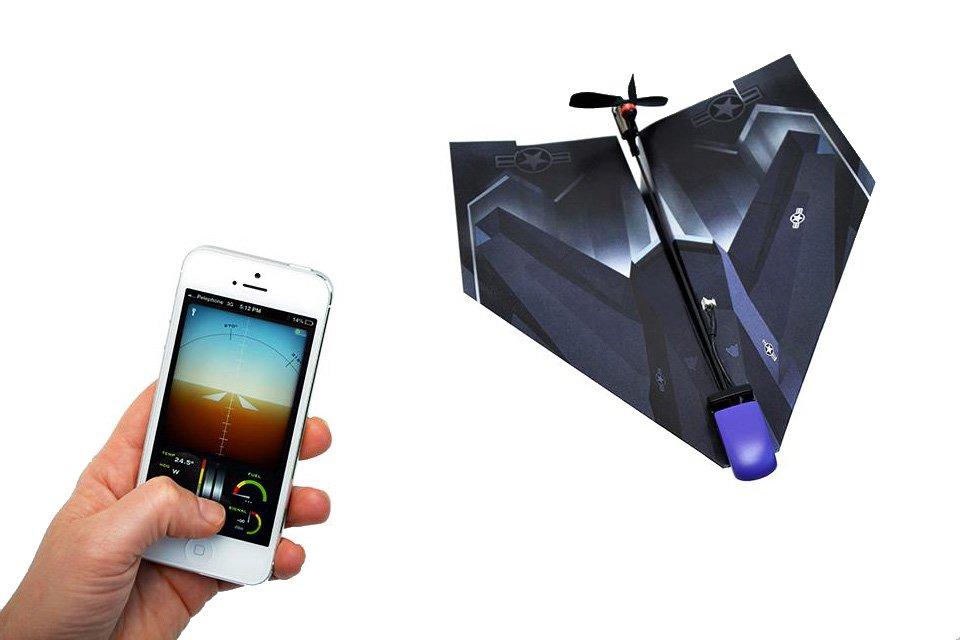 PowerUP 3.0: бумажный самолетик с радиоуправлением  - Изображение 5