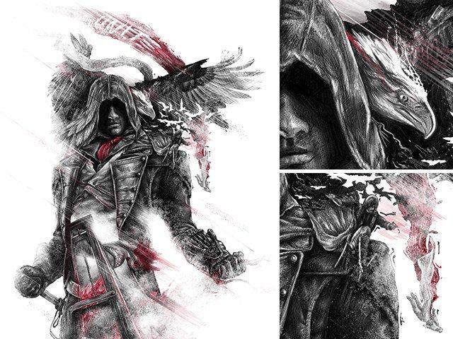Не самые крутые футболки, зато прикольный арт по Assassin's Creed - Изображение 12