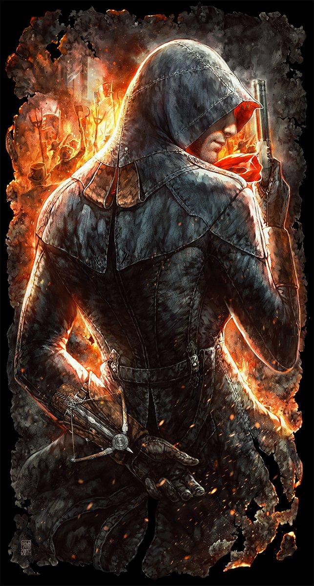 Не самые крутые футболки, зато прикольный арт по Assassin's Creed - Изображение 2