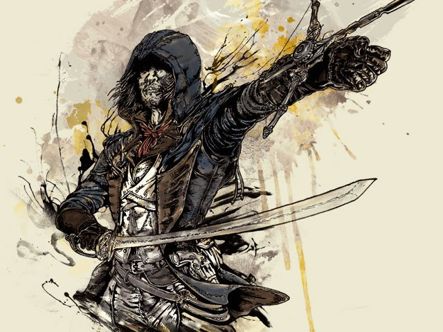 Не самые крутые футболки, зато прикольный арт по Assassin's Creed - Изображение 8